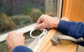 Как устранить щели в окнах