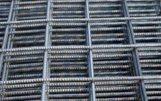 Применение оцинкованной сетки в строительстве