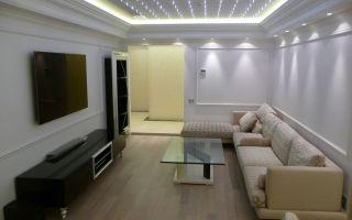 Потолки с подсветкой в интерьере
