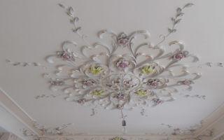 Декоративное оформление потолков