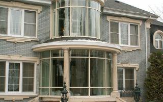 Остекление балконов загородных домов