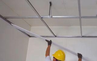 Потолок из ПВХ своими руками