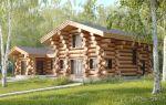 Дом из бревна и деревянные дома из оцилиндрованного бревна